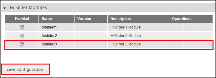 enable newly added drupal module
