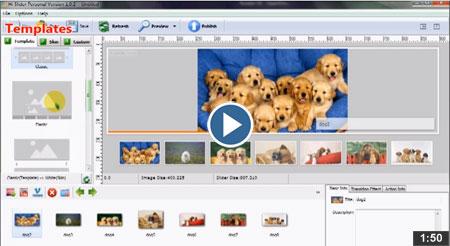 slideshow to video