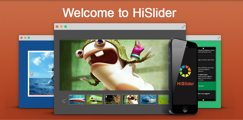 Hi Slider, Free WordPress Photo Slideshow Maker